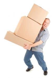 Moving Heavy Bulky Items