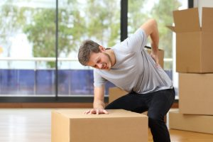 Avoid injuries while moving