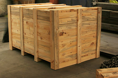 Custom Wooden Crate for Moving